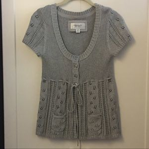 American Eagle gray sweater | medium